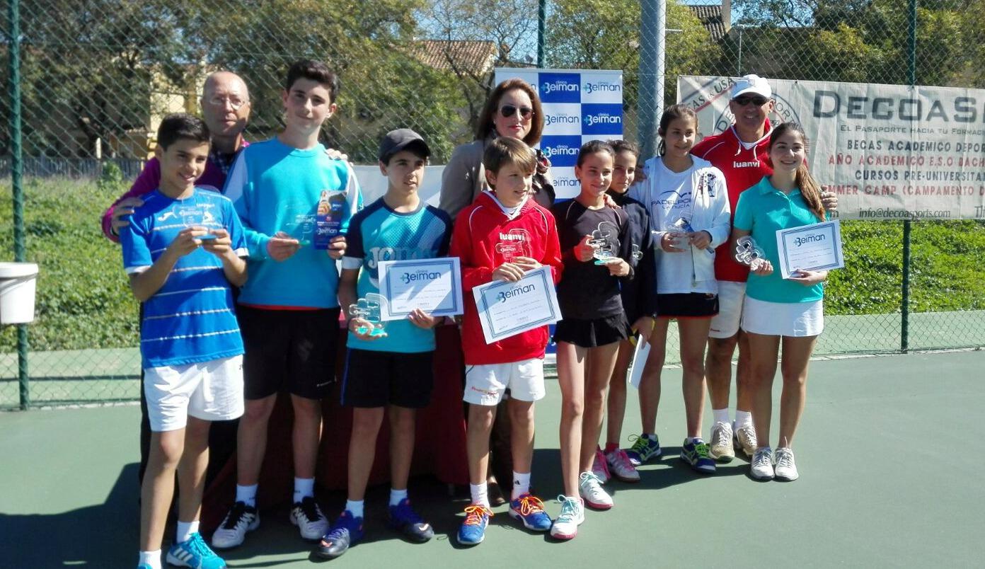 Tenis, un deporte que Beiman apoya