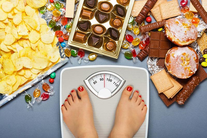 Aumentar de peso en Navidad por excesos al comer
