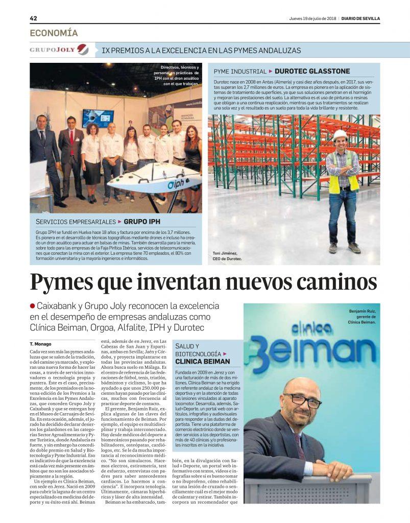 Premios a la Excelencia en las Pymes Andaluzas