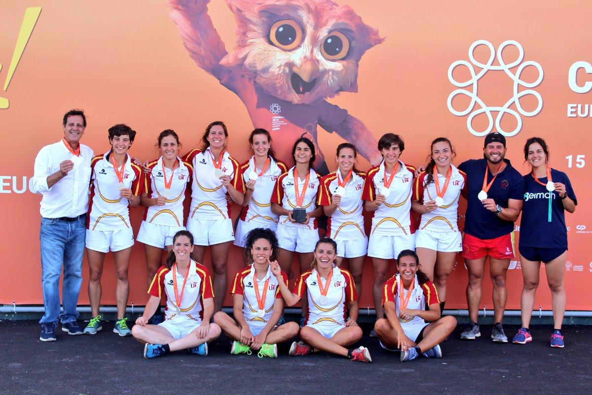 Universidad de Sevilla en rugby 7 femenino