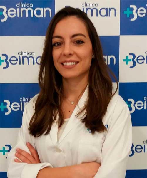 Carmen Pérez, dermatóloga en Jerez