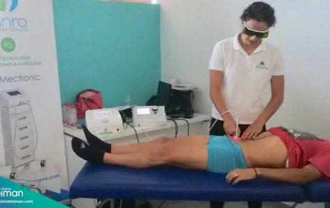 Laserterapia en Andalucía con Sanro y Clínicas Beiman