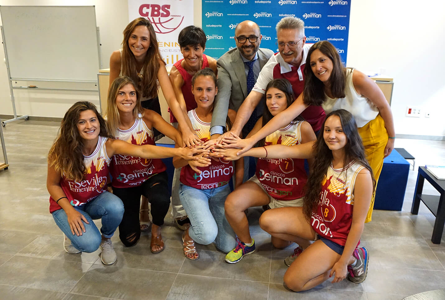 Club Baloncesto Sevilla Femenino presenta a Clínicas Beiman como su patrocinador principal para la temporada 2018/2019