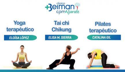 Yoga y pilates en Espartinas.