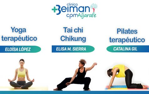 Yoga y pilates en Espartinas.