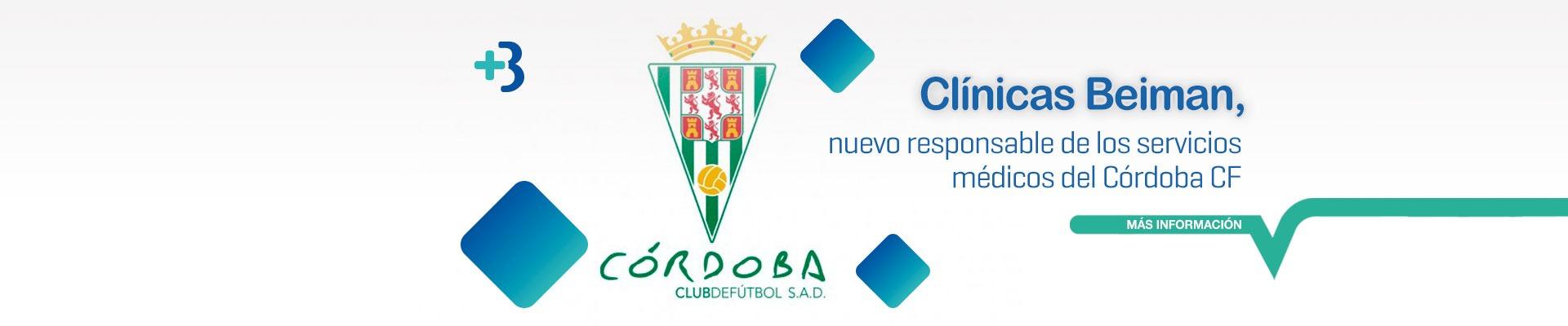 Córdoba CF y Clínicas Beiman