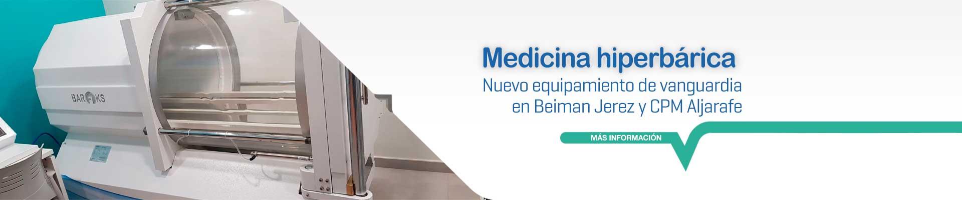 Cámara hiperbárica en Jerez
