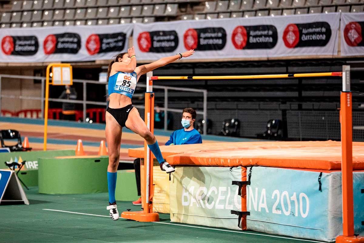 Marta Moreno saltadora de altura